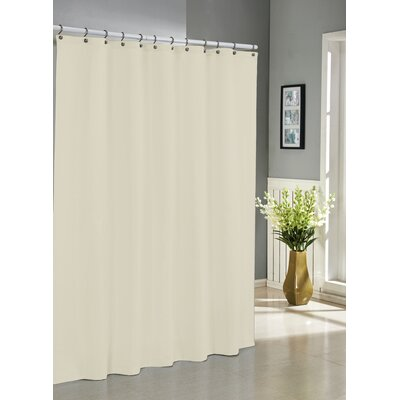 Albion Jacquard Shower Curtain Color: Ivory