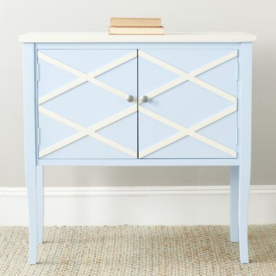 Woodhull Server Finish: Light Blue