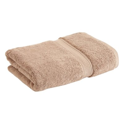 Superior 2 Piece Towel Set Color: Latte