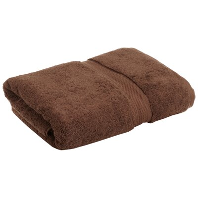 Superior 2 Piece Towel Set Color: Chocolate
