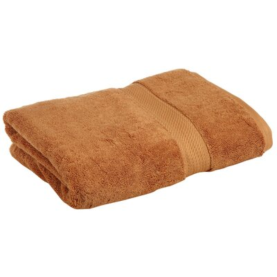 Superior 2 Piece Towel Set Color: Rust