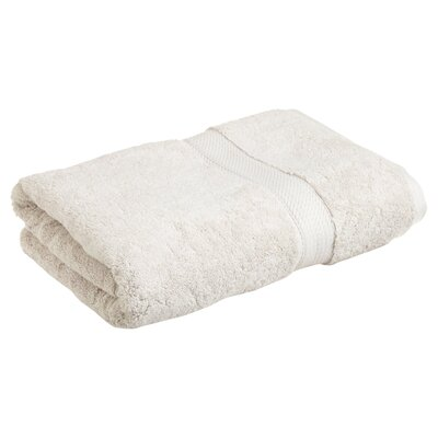 Superior 2 Piece Towel Set Color: Stone
