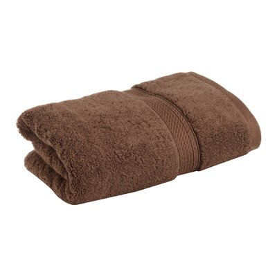 Superior Premium Hand Towel Color: Chocolate