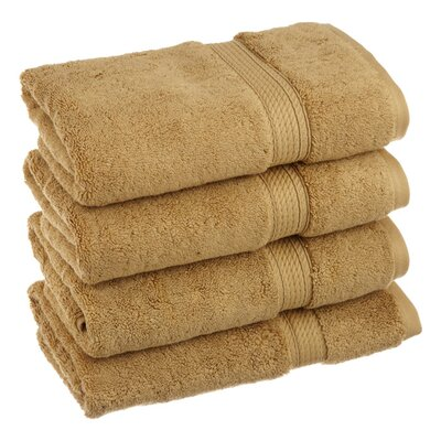 Spring Grove 900GSM Premium Long-Staple Combed Cotton Hand Towel Color: Toast