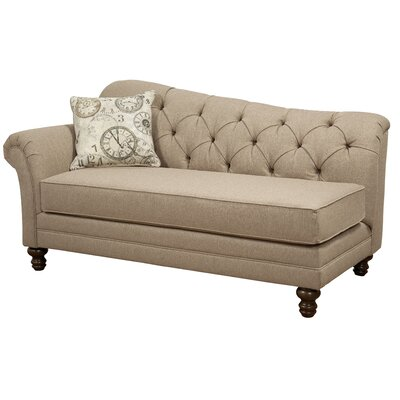 Serta Upholstery Wheatfield Chaise Lounge Upholstery: Siam Parchment