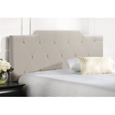Belmac Adjustable Upholstered Panel Headboard Size: King / California King