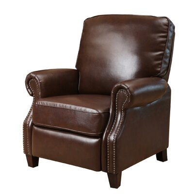 Wheatland Push Back Leather Recliner