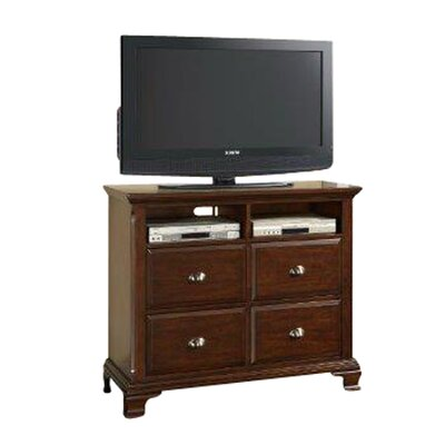Plattsburgh 4 Drawer Media Chest