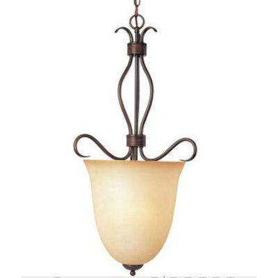 Birdsall 2-Light Foyer Pendant Finish/Shade Finish: Wilshire/Oil Rubbed Bronze