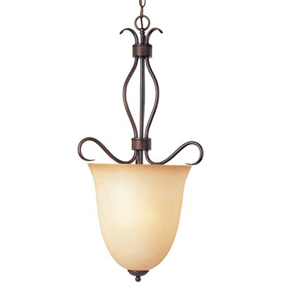 Birdsall 4-Light Foyer Pendant Finish/Shade Color: Wilshire/Oil Rubbed Bronze