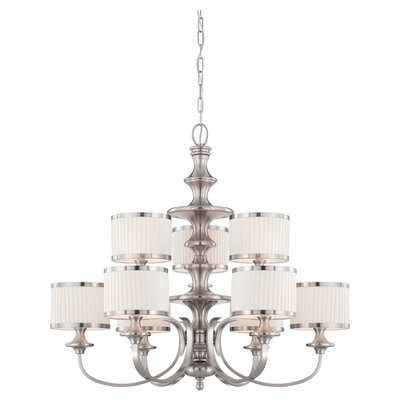 Harwinton 9-Light Drum Chandelier