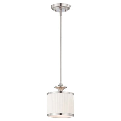 Harwinton 1-Light Drum Mini Pendant