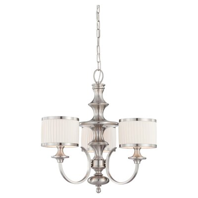 Harwinton 3-Light Drum Chandelier