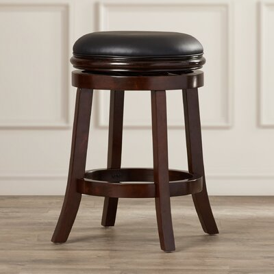 Bristol 24 Swivel Bar Stool Finish: Cherry