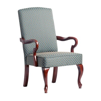Naugatuck Fabric Arm Chair Upholstery: Blue