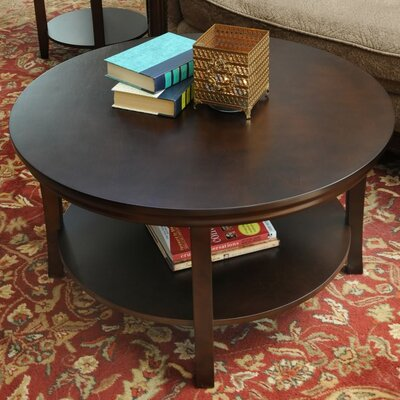 Sanford Coffee Table Color: Espresso