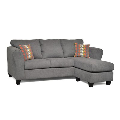 Three Posts THRE3767 27709885 Fredericktown Reversible Chaise Sectional