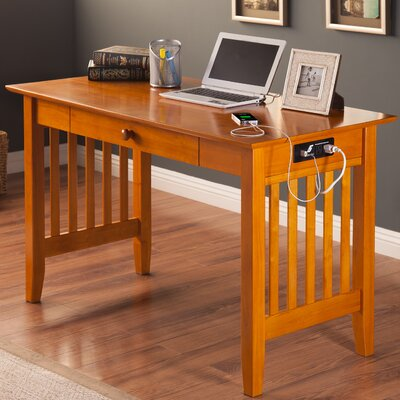 Livonia Writing Desk Finish: Caramel Latte