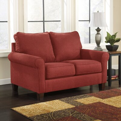 Osceola Twin Sleeper Sofa Upholstery: Crimson