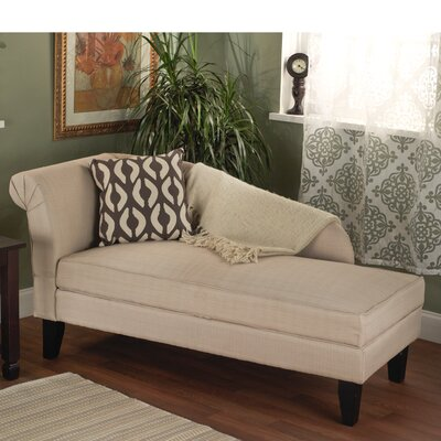 Middletown Chaise Lounge Color: Beige