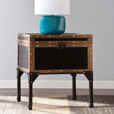 Elizabethtown Travel Trunk End Table
