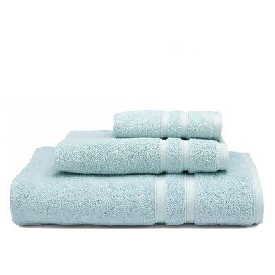 Solid Dobby Cotton Bath Towel Color: Seaglass (Aqua)