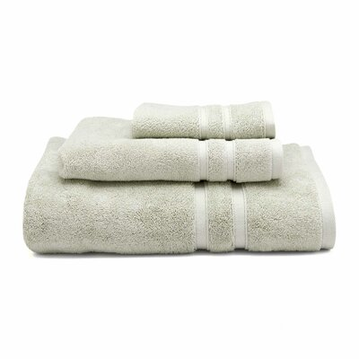 Three Posts Perennial Hand Towel Color: Stone (Moss Green)