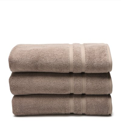 Cotton Wash Cloth Color: Sandstone (Dark Tan)
