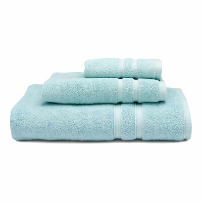 Three Posts Perennial Hand Towel Color: Seaglass (Aqua)