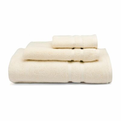 Three Posts Perennial Hand Towel Color: Mist (Ivory)