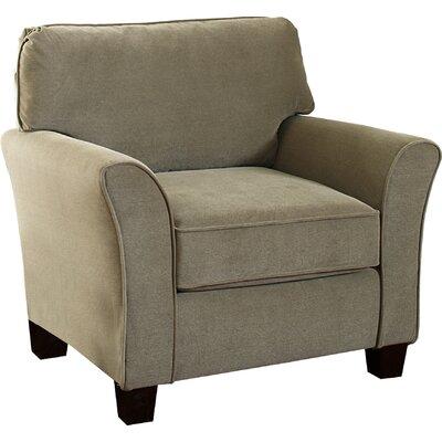 Clayton Armchair Upholstery: Smoke