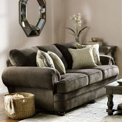 Simmons Upholstery Killingworth Sofa Upholstery Color: Sunflower Brown