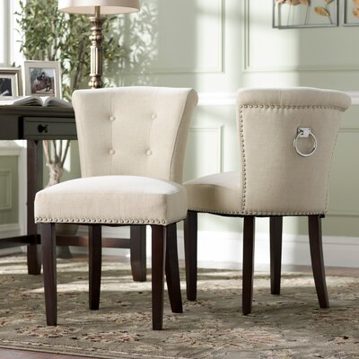 Goulding Side Chair Upholstery: Oatmeal