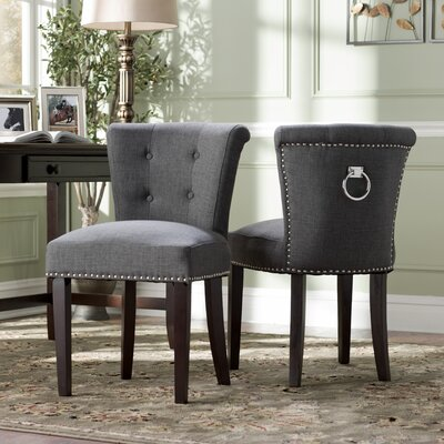 Goulding Side Chair Upholstery: Gray