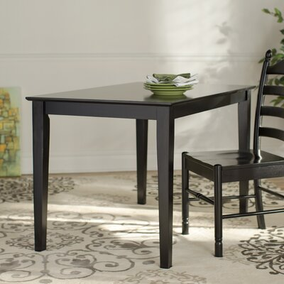 Dining Table Finish: Black