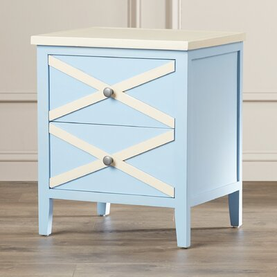Chereen 2 Drawer End Table