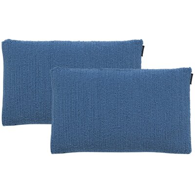Providence Indoor/Outdoor Throw Pillow Color: Lt. Marine Blue