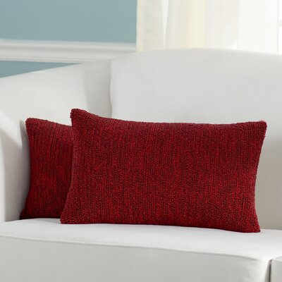 Providence Indoor/Outdoor Throw Pillow Color: Marine Red