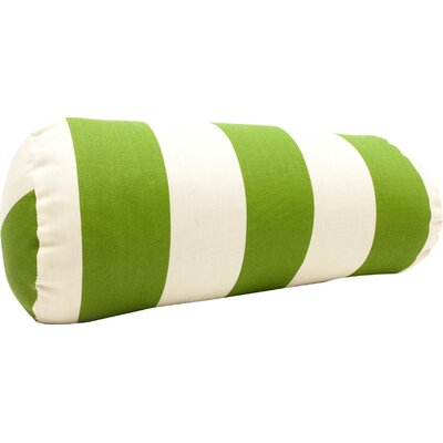 Mufeeda Indoor/Outdoor Bolster Pillow Color: Sage