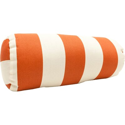 Mufeeda Indoor/Outdoor Bolster Pillow Color: Burnt Orange