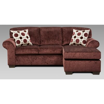 Ranger Sectional Upholstery: Prism Elderberry