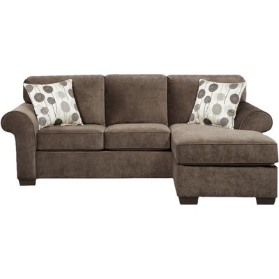 Three Posts THRE3947 27983942 Columbus Reversible Chaise Sectional Upholstery
