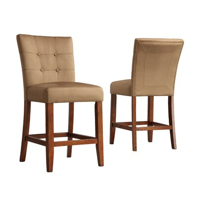 Hindsboro 24 Wood Framed Bar Stool