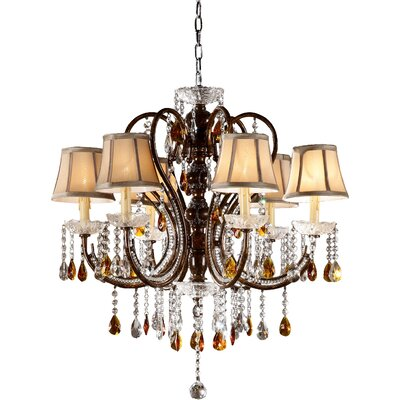 Kersey 6-Light Crystal Chandelier