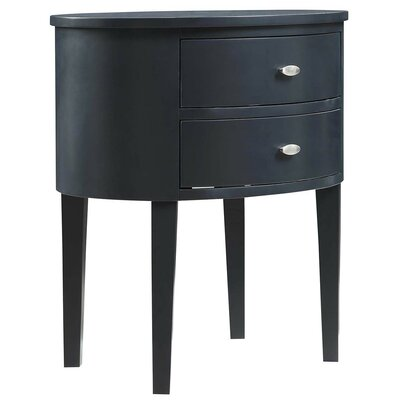 Canterbury End Table With Storage� Color: Midnight Black