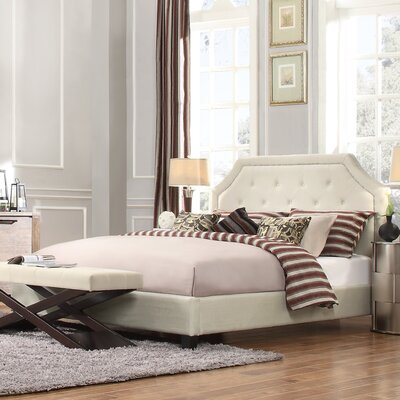 Somerby Upholstered Panel Bed Size: Full