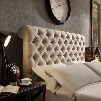 New Britain Upholstered Panel Headboard Size: Queen