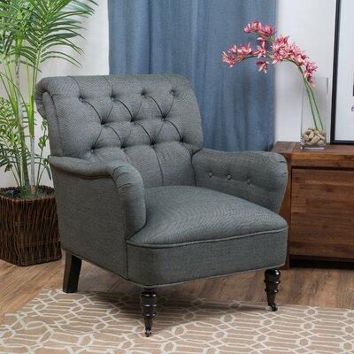 Leon Armchair Upholstery: Gray