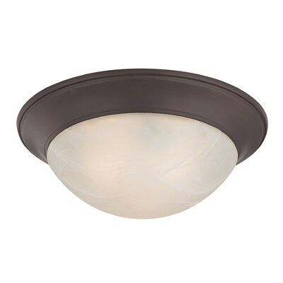 Ellesmere 3-Light Flush Mount Finish: Oil Rubbed Bronze