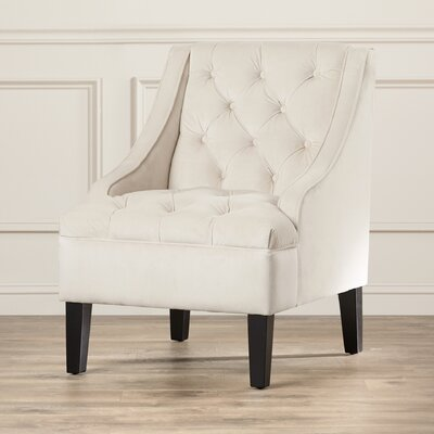Darien Tufted Swoop Side Chair